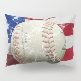 Baseball - New York, New York Pillow Sham