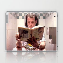 Pulp Fiction Movie Poster - Vincent Vega Print - Funny Bathroom Laptop & iPad Skin