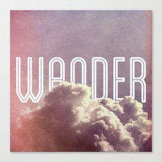 Wander (square) Canvas Print