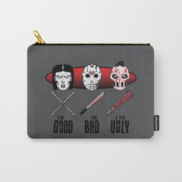 Hockey Mask Evolution Carry-All Pouch