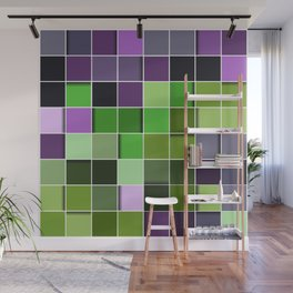 3D PATTERN SQUARE Wall Mural