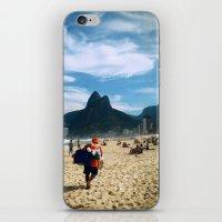 rio de janeiro iPhone & iPod Skins featuring Rio de Janeiro 2 by lulindemann