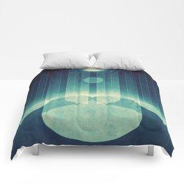 Earth - Aurora Borealis Comforters