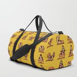 Pizza Yoga Duffle Bag