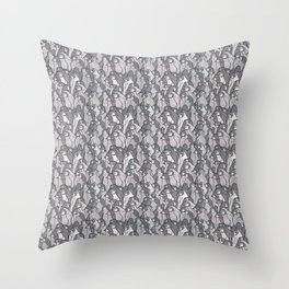 Penguin Parade Throw Pillow