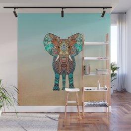 BOHO SUMMER ELEPHANT Wall Mural
