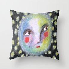 Mr.Moonlight Throw Pillow