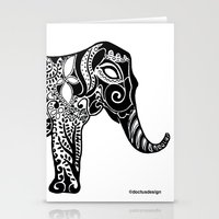 ganesh Stationery Cards featuring Ganesh by doctusdesign