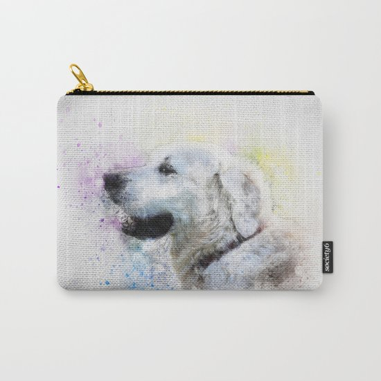 Abstract Colorful Dog Carry-All Pouch