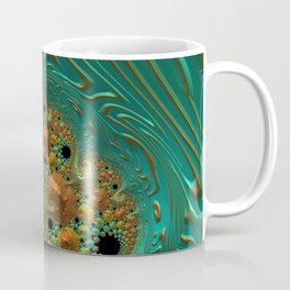 Cool Creamsicle - Fractal Art Coffee Mug