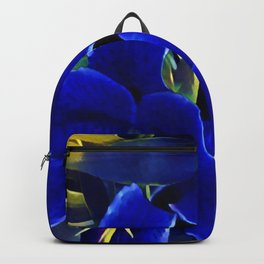 Blue Lilies Backpack