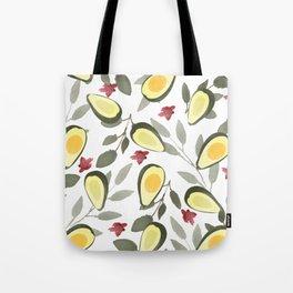 Tropical Avocados Tote Bag