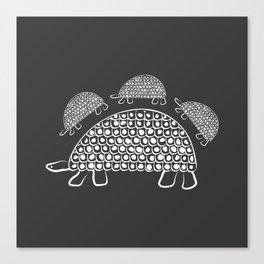 Persian Tortoise Motif Canvas Print