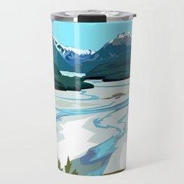 Dart River Valley, Glenorchy Travel Mug