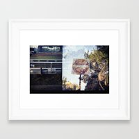 ford Framed Art Prints featuring Ford by Ryan Helfant