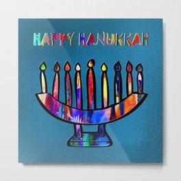 Happy Hanukkah! Metal Print