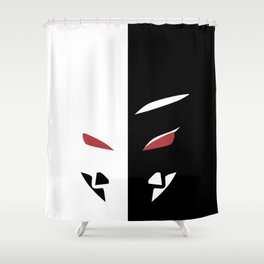 Liars Mask Shower Curtain