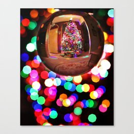 Colour X-mas Canvas Print