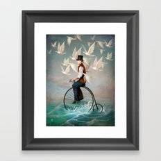 Ocean Ride Framed Art Print