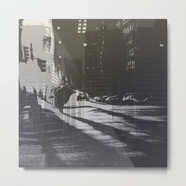 City collage Metal Print