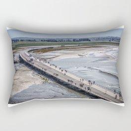 The Long Road... Rectangular Pillow
