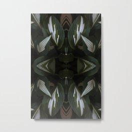 Hosta La Vista Metal Print