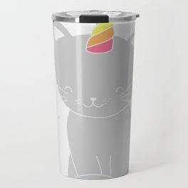 cutie-kitty-unicorn! Travel Mug