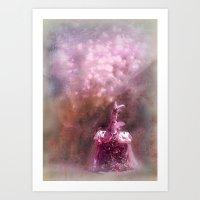 fairy tale Art Prints featuring fairy tale by Bunny Noir