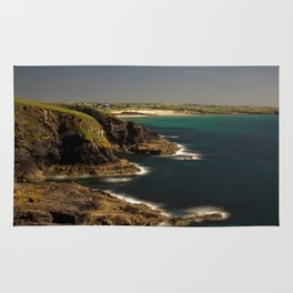 Trevose Head to Constantine Bay, Cornwall, UK Rug