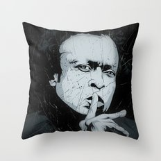 M.D. Throw Pillow