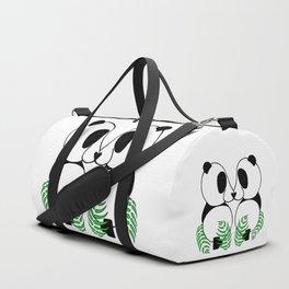 Pandas in Love Duffle Bag