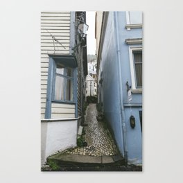 Bergen Alley Canvas Print