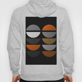 Tin Soldiers- Abstract, metallic textured, geometric, gold, silver, bronze artwork Hoody