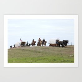 Trail Ride Art Print