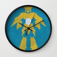 digimon Wall Clocks featuring Magnamon by JHTY