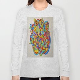 Abstract painting 000 Long Sleeve T-shirt