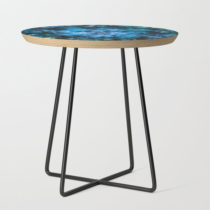 Blue_burst_Side_Table_by_Keith_Mills__Black__Round