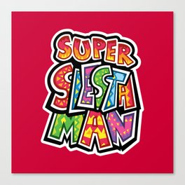 Super Siesta Man Canvas Print