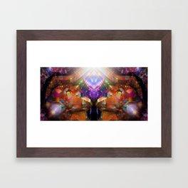 Prismatic Ecstasy Framed Art Print