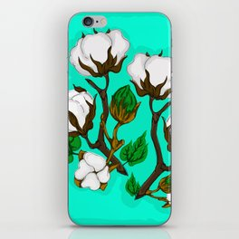 Cotton Pattern I iPhone Skin