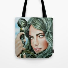 Warrior girl Tote Bag
