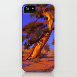 Golden Juniper iPhone Case