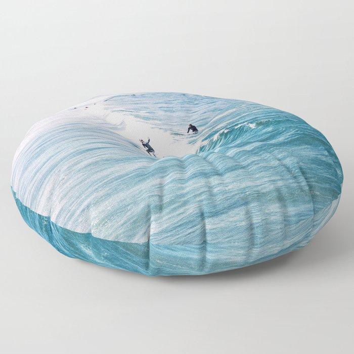 Catch A Wave Floor Pillow