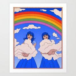 The Cloud Keepers Art Print