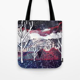 Night Travels revisited Tote Bag