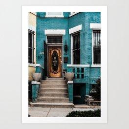 At Your Doorstep Art Print