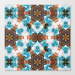 Les Fleurs Photographic Pattern Canvas Print