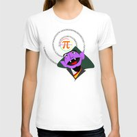 pi T-shirts featuring Count Pi by tuditees