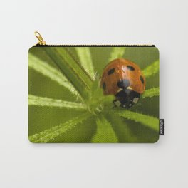 Ladybug in the center Carry-All Pouch