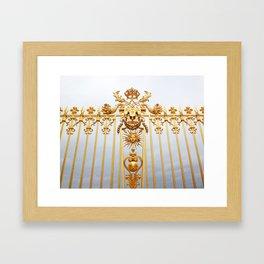 Gates of Versailles  Framed Art Print